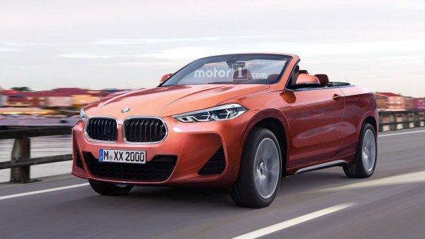 BMW хочет «снести» крышу кроссоверу X2