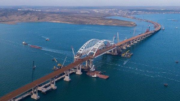 Киев сообщил о «проблемах» России с Крымским мостом