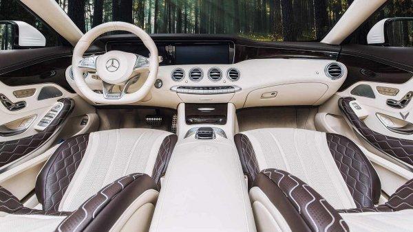 Vilner Design переработало интерьер Mercedes-AMG S63