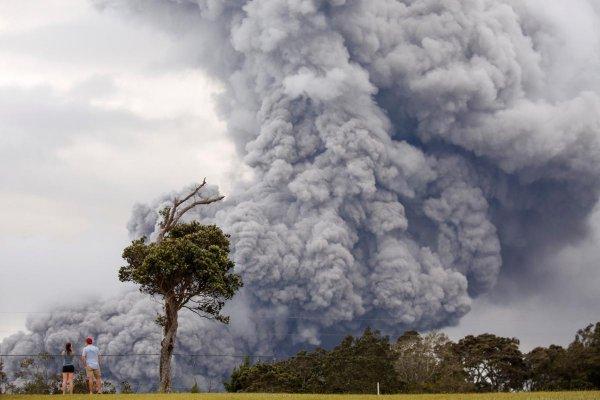 4-километровое облако смога от вулкана Килауэа достигло Маршалловых Островов
