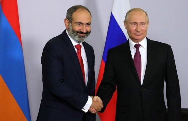 На будущей неделе Путин встретиться с Пашиняном
