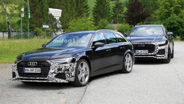 Шпионы заметили новый Audi RS6 Avant почти без камуфляжа
