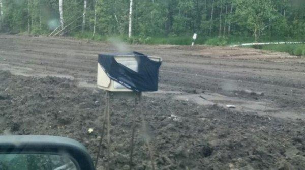Покровские водители защищаются от камер видеонаблюдения трусами