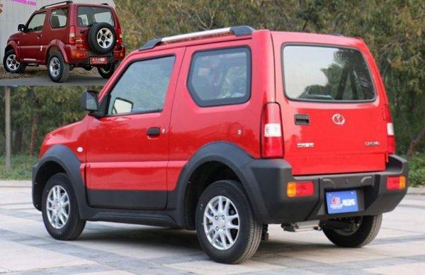 Китайцы выпустили электрическую копию внедорожника Suzuki Jimny