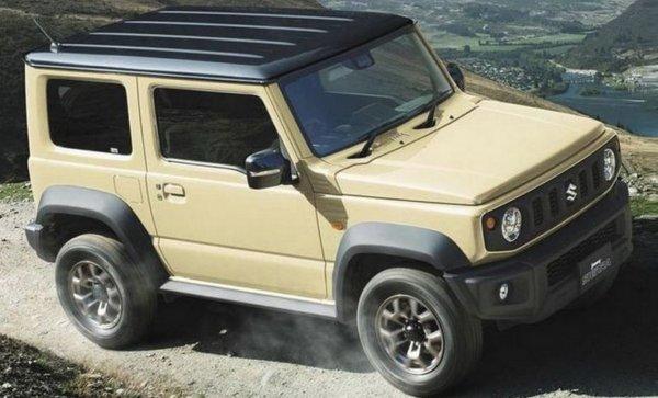 Внедорожник Suzuki Jimny нового поколения рассекречен до премьеры