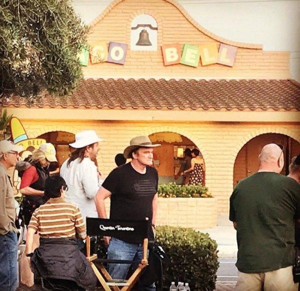 В Сеть «слили» первые кадры со съемок нового фильма Квентина Тарантино