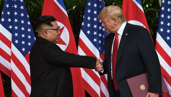 Трамп не сдержал обещание позвонить Ким Чен Ыну