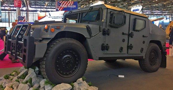 General Motors представила улучшенный Humvee NXT 360