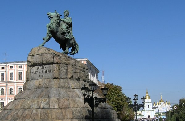 Украинского гетмана XVII века назвали «агентом Путина» и коммунистом