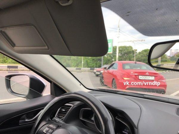 Тульского водителя в Воронеже поймали на нарушении