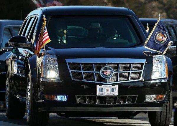 В соцсетях Cadillac «Зверь» Трампа сравнили со свиньей