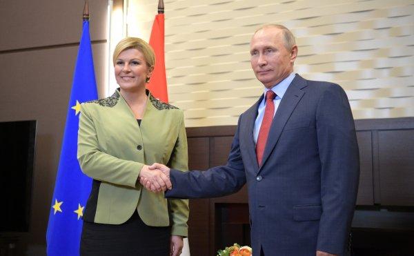 В Госдуме поддерживают инициативу президента Хорватии о диалоге с РФ