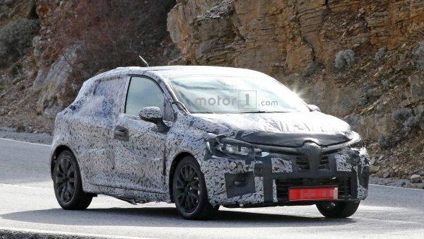 Хэтчбек Renault Clio нового поколения «засветился» на видео в ходе тестов