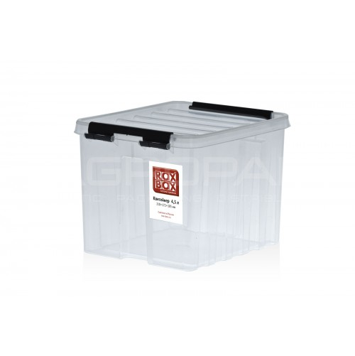 Надежные и прочные пластиковые контейнеры с крышкой