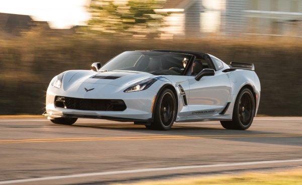 Chevrolet Corvette оснастят активной активной аэродинамикой