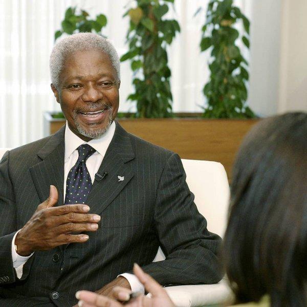 Скончался генсек ООН Кофи Аннан