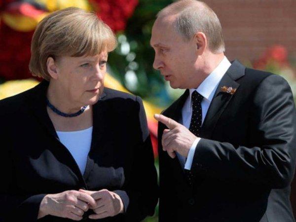 Путин прибыл в Берлин для переговоров с Меркель