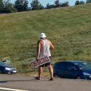 Причина заторов на М4 раскрыта: На трассе «Дон» жулики наживаются на туристах, требуя деньги за объезд