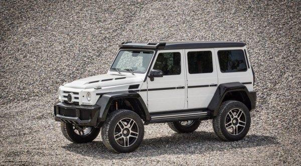 Швейцарцы из Fab Design обновили кузовной обвес для Mercedes-Benz G500 4X4