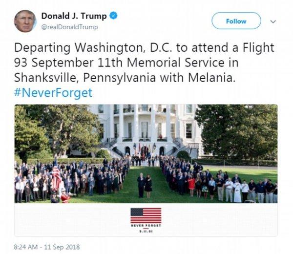 Трамп сильно облажался из-за лживых снимков к 11 сентября