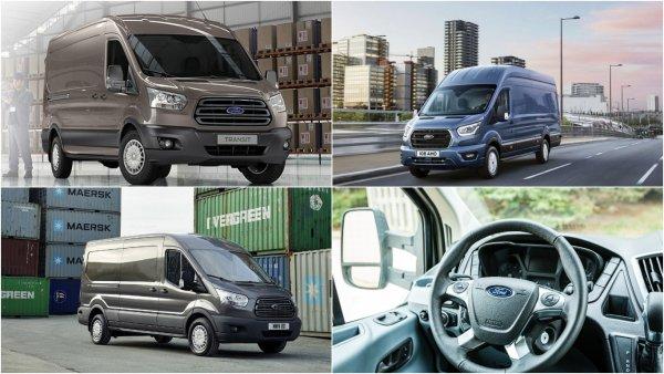 В России предложат новые версии Ford Transit