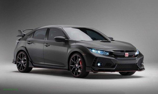 Представлен улучшенный хэтчбек Honda Civic Type-R