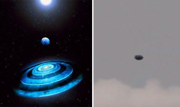«Пришельцы существуют!»: Дискообразный НЛО появился над Шотландией – уфологи