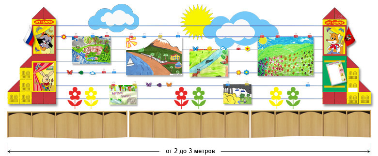Производство стендов для детских садов и школ