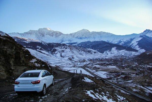 «Озорная машинка»: Владелец LADA Vesta рассказал, как автомобиль справляется с суровыми морозами