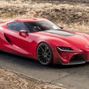 В сети появился первый снимок серийной Toyota Supra нового поколения