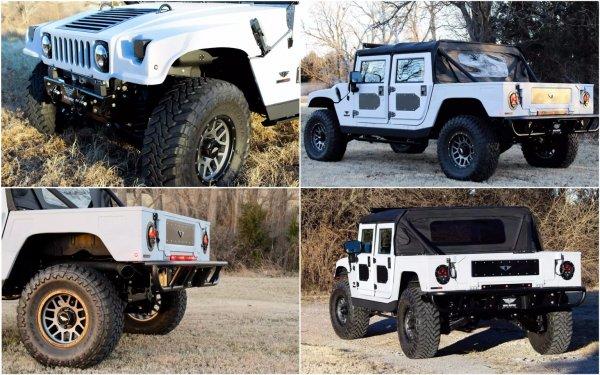 В США построен «кевлар-полиуретановый» Hummer H1