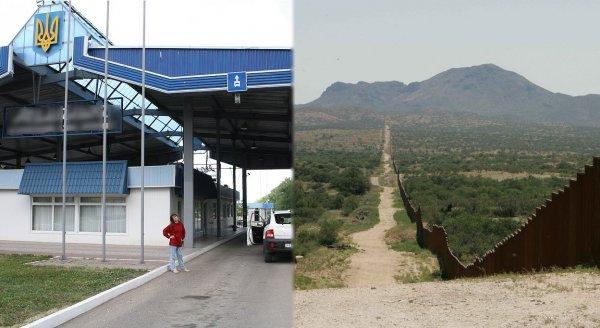 В Крыму появилось заграждение на границе с Украиной