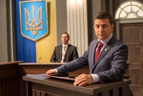 Комик Владимир Зеленский рассказал, как выведет Украину из кризиса