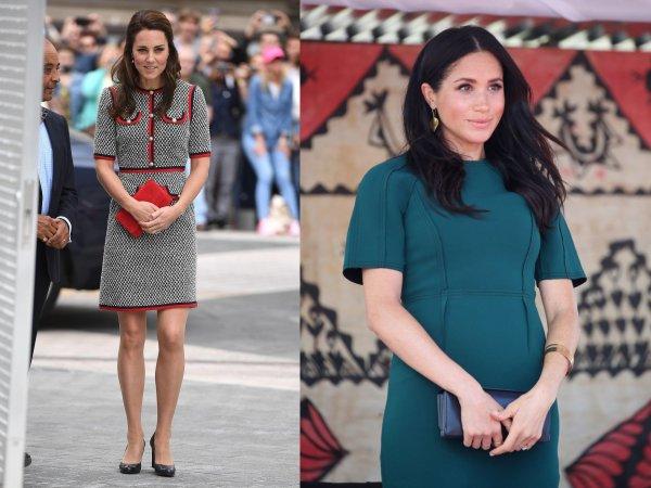 Дорогое удовольствие: Стали известны цены гардеробов Кейт Миддлтон и Меган Маркл в первый год замужества