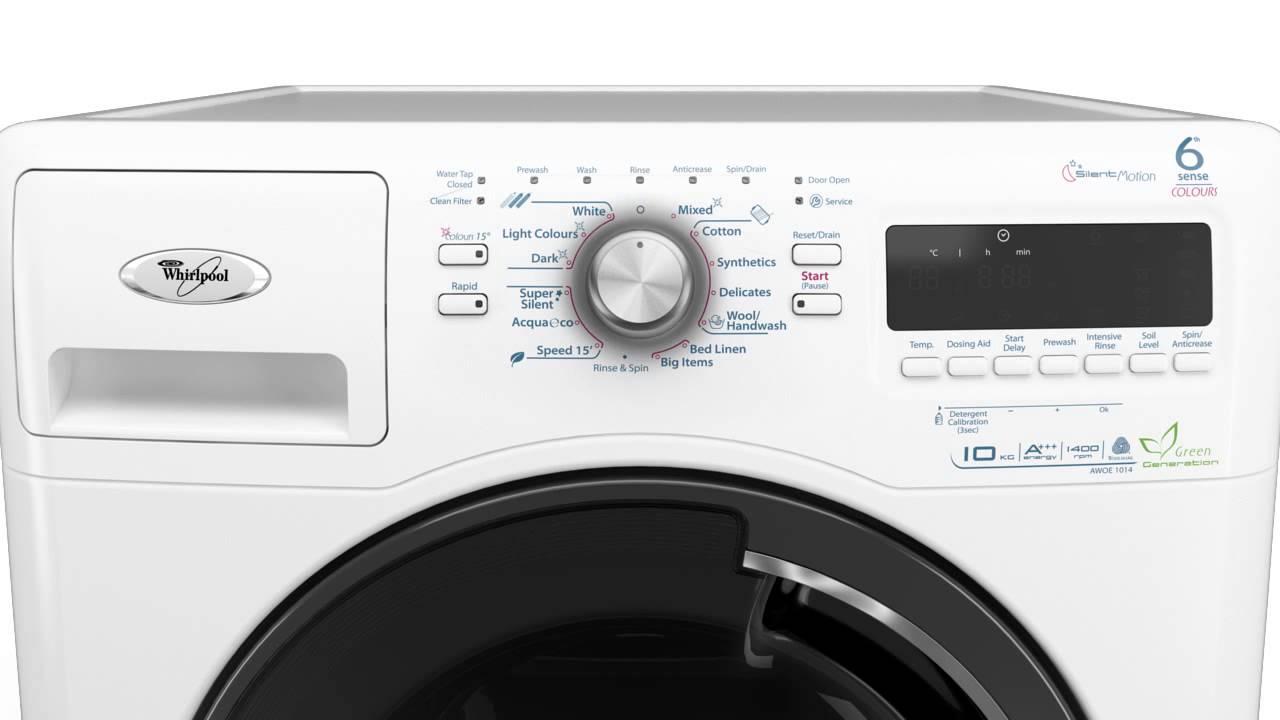 Стиральная машинка Whirlpool только в COMFY