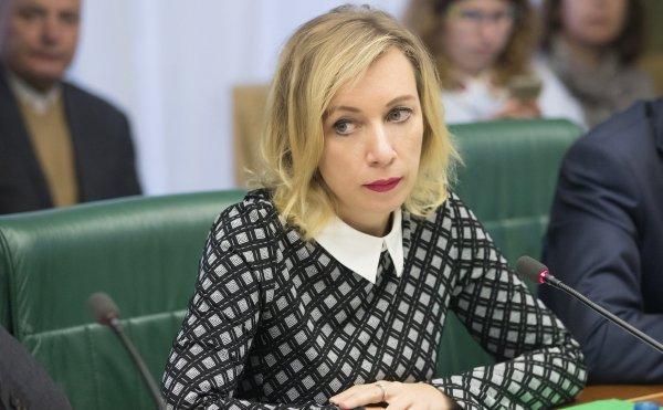 Захарова обозвала Порошенко после его обвинений России