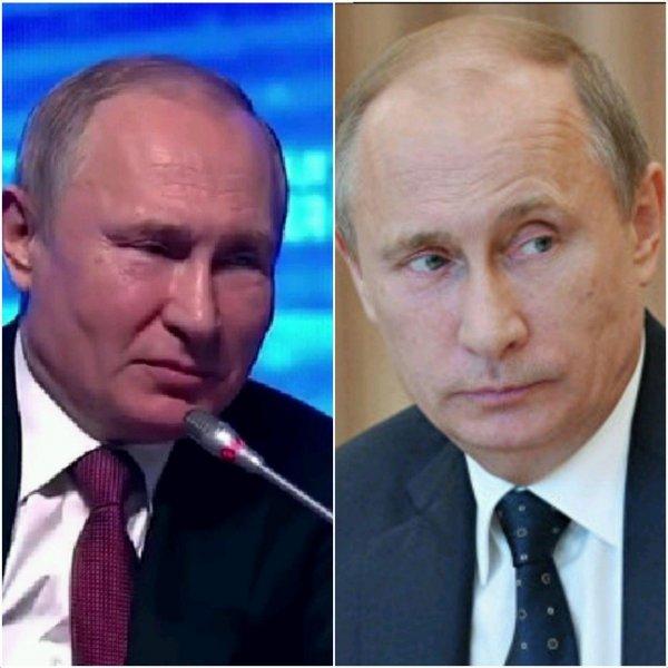 «Где наш Путин?»: Наблюдатели уличили двойника президента в несхожести