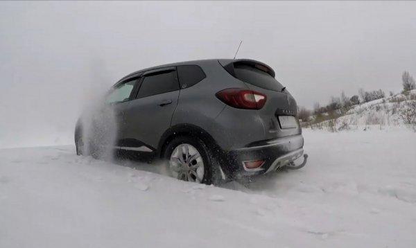 «Неожиданности зимнего офф-роуда»: Renault Kaptur уделал «Ниву» на бездорожье