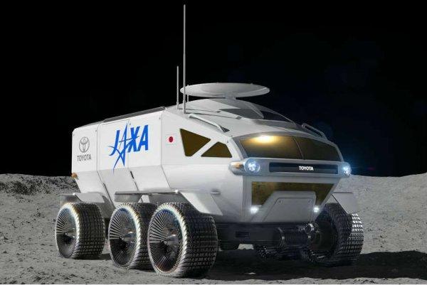 «Крузак» для Луны: В сети показали изображения лунного вездехода от Toyota