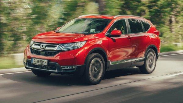 «Любовь с первого взгляда»: Своими впечатлениями от Honda CR-V поделился эксперт