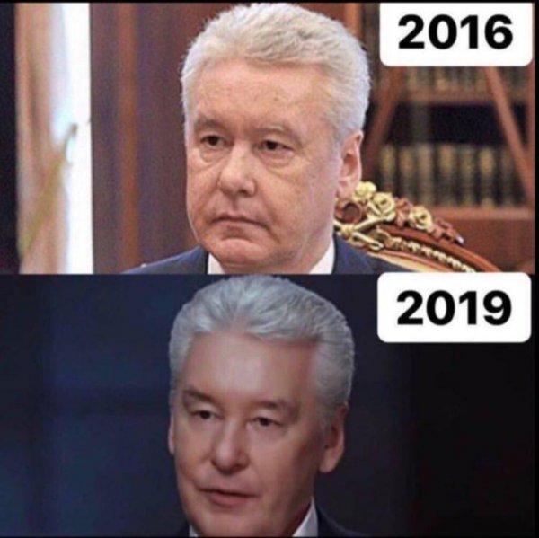 «Когда твой друг — Путин»: Собянина уличили в визитах к пластическому хирургу президента РФ