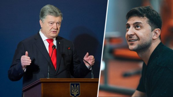 «Никакой и читает по бумажке»: «Надежда России» Зеленский провалил дебаты против Порошенко – блогер