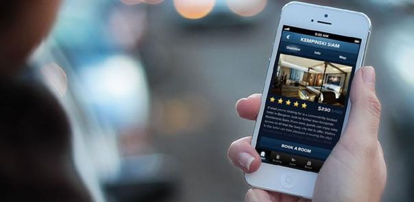 Гостиничные мобильные приложения