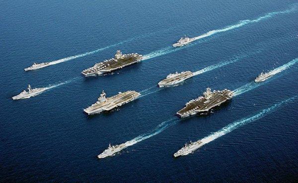 Ржавые корыта демократии: лишь 15% авианосцев ВМС США способны нести боевую службу