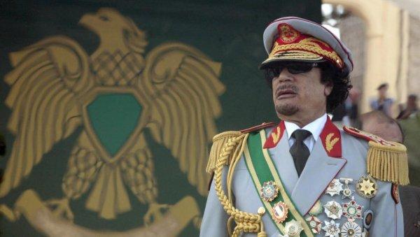Золото ливийского диктатора: деньги Муаммара Каддафи осели в карманах российских спецслужб
