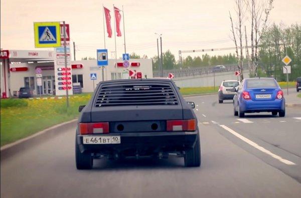 «Коптит, да не едет»: О ремонте ВАЗ-2108 с мотором от Audi A8 рассказал блогер