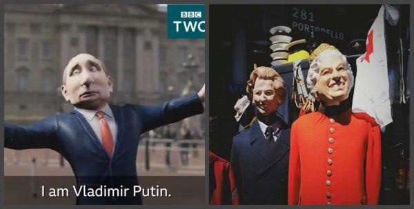 Песков озвучил позицию Путина о карикатурном шоу на ВВС
