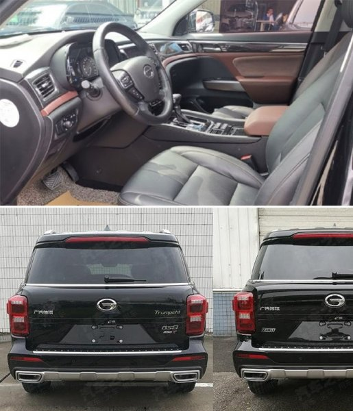 Китайский «ГАК» порвёт «Крузак»: В сети показали обновлённого «убийцу» Toyota LC Prado в лице GAC Trumpchi GS8