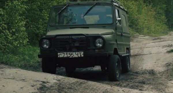 «Ползает там, где Джипу придет каюк»: О лучшем вездеходе СССР в лице ЛУАЗ-1302 рассказал блогер