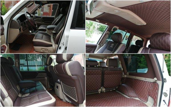 Снаружи – «Крузак», внутри – Rolls-Royce: Шикарный тюнинга салона Toyota Land Cruiser показали в сети